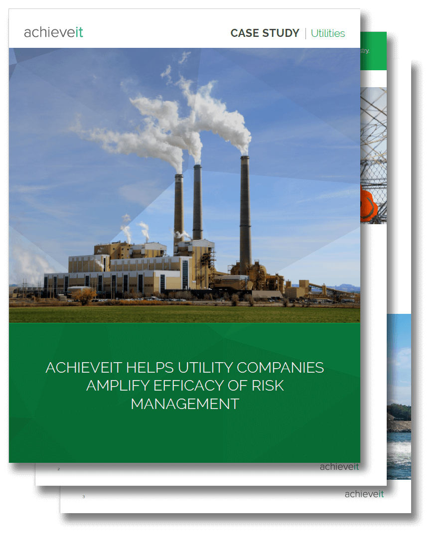 AchieveIt Helps Utility Companies Amplify Efficacy of Risk Management